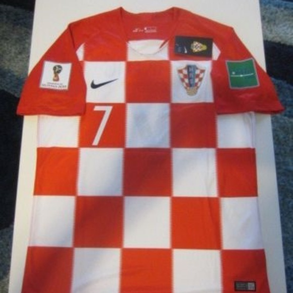 51e649f5481 Nike Shirts   I Rakitic Croatia 2018 World Cup Home Jersey   Poshmark